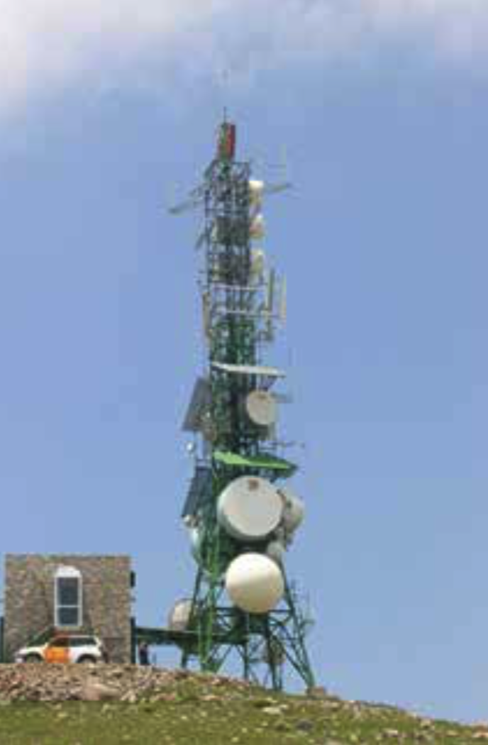 Pic de Gomà Telecommunications Tower - EMP Defense