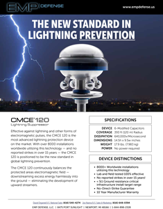 EMP Advanced Lightning Suppression CMCE-120 Overview